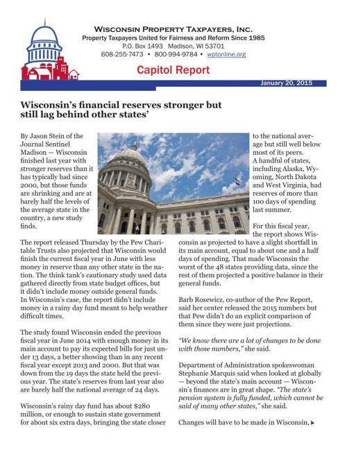 Capitol Report 01202015