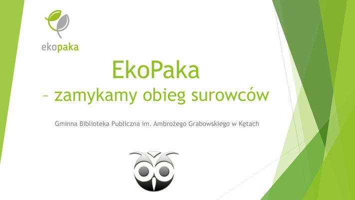 Warsztaty ekologiczne EkoPaka