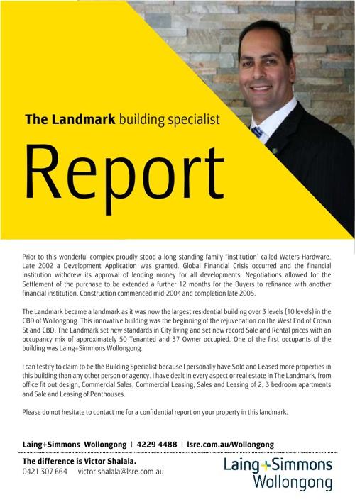 Landmark Building Specialist - 24th October 2013
