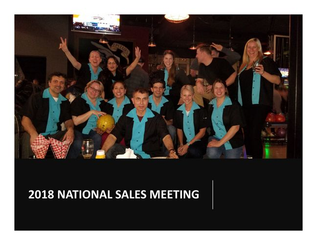 Cipher National Sales Meeting - Group Outing