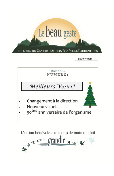 Bulletin CABL hiver 2011