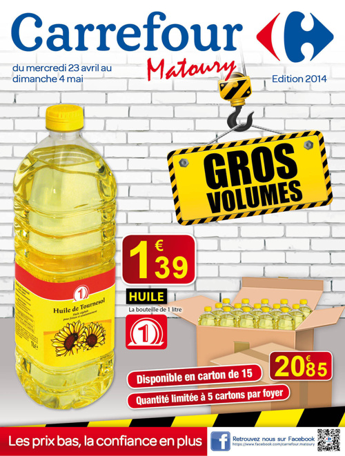 Catalogue gros volumes avril 2014