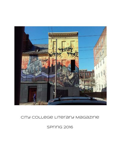 CityCollegeLiteraryMagazine 2016