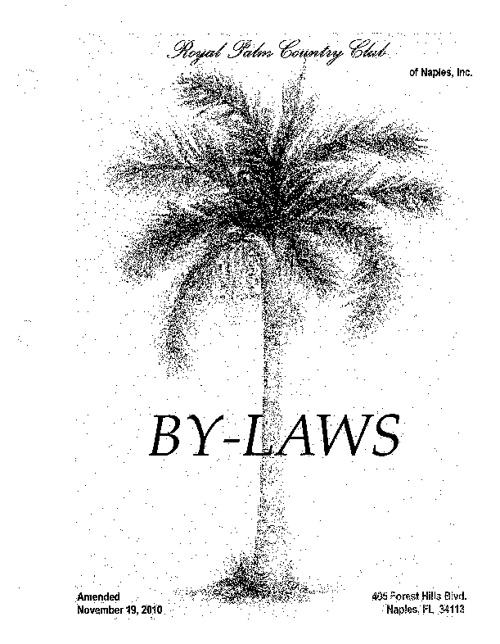 bylaws 2010