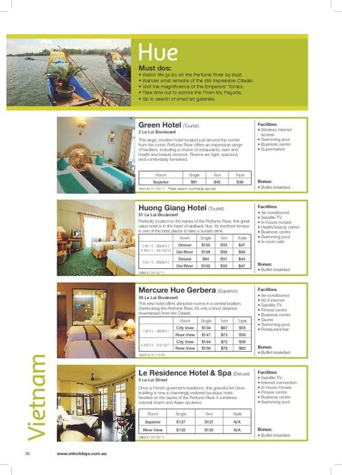 Hotel - Hue - Danang
