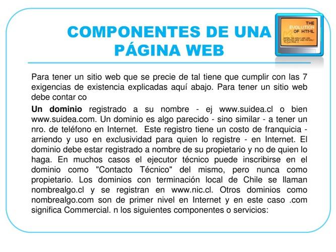 Intruduccion a Desarrollo, pagina Web