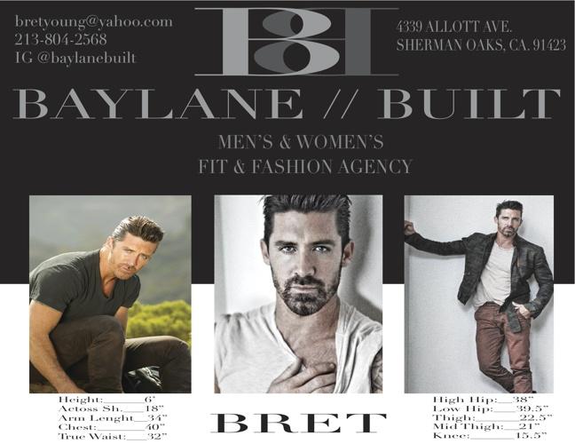BAYLANE // BUILT FIT AND FASHION MODELS