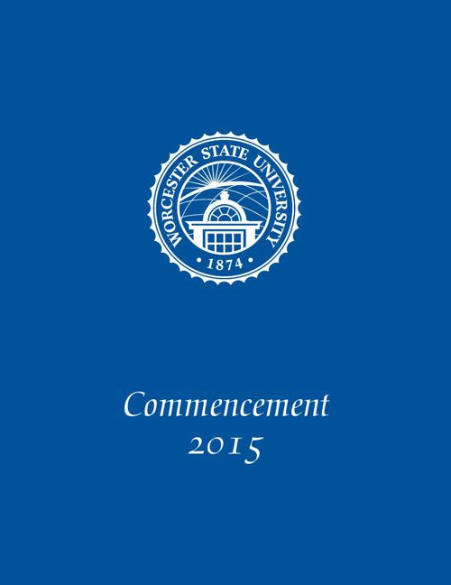 Graduate Commencement Program 2015