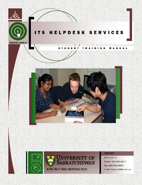 Help Desk Training Manual