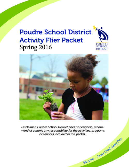Spring 2016 Flier Packet