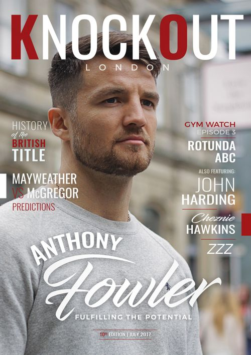 KnockOut London Magazine 10 - Anthony Fowler