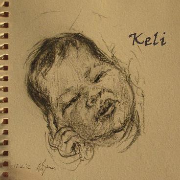 Geboortekaartje Keli