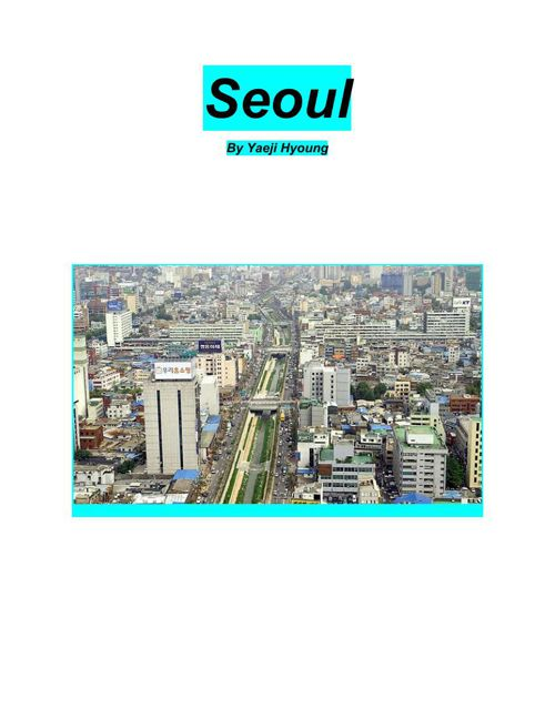 SeoulNonfictionWriting