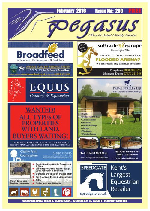 Pegasus Magazine February 2016 issue
