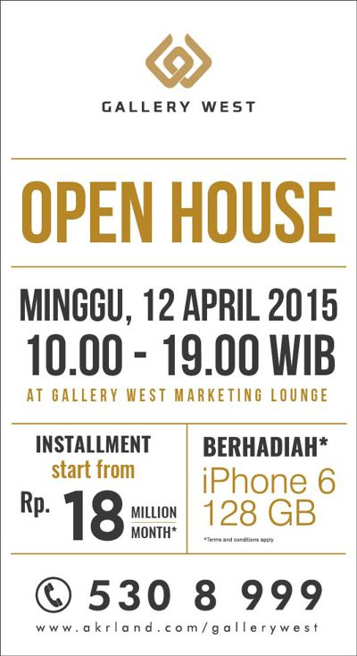 Material Promo Open House April 2015