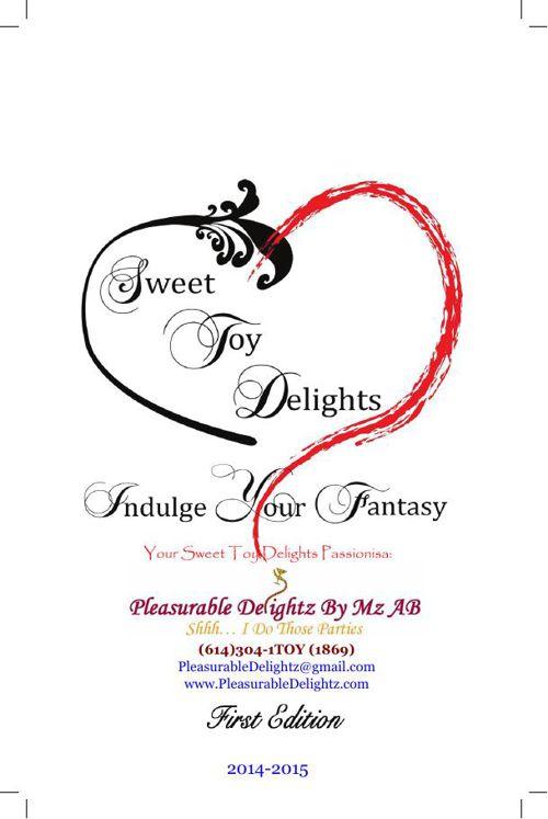 Pleasurable Delightz - 2014-2015 Sweet Toy Delights Catalog
