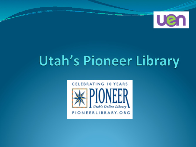 Pioneer Library