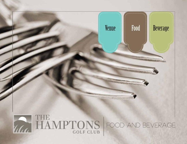 The Hamptons Catering Package