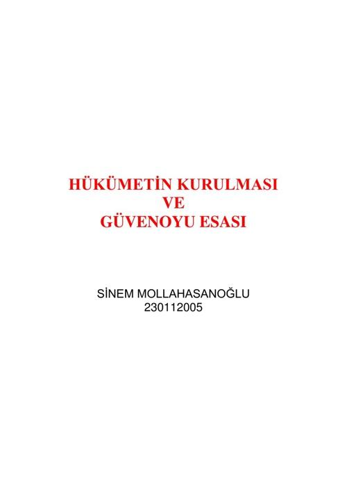 S. MOLLAHASANOĞLU & M. KARABULUT & E. ERDEMİR