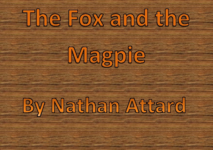 The Fox and the Magpie by Nathan Attard