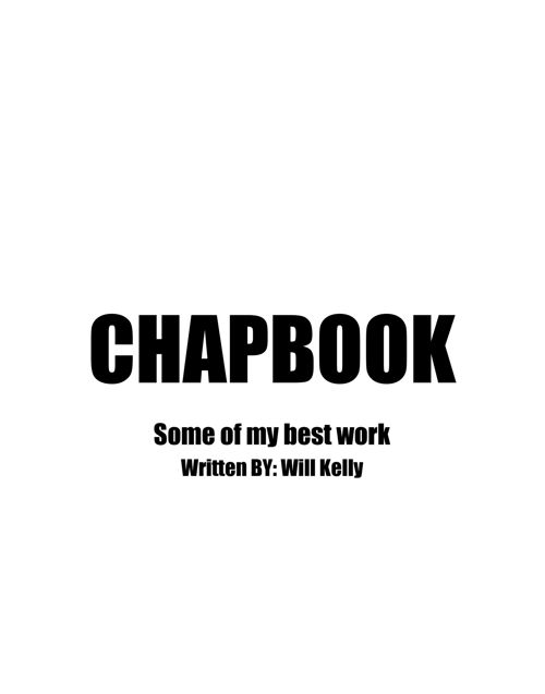 CHAPBOOK - Google Docs