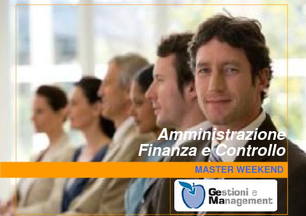 Master Amministrazione Finanza e Controllo