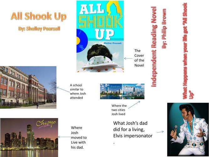 Independent Novel Project: All Shook Up!