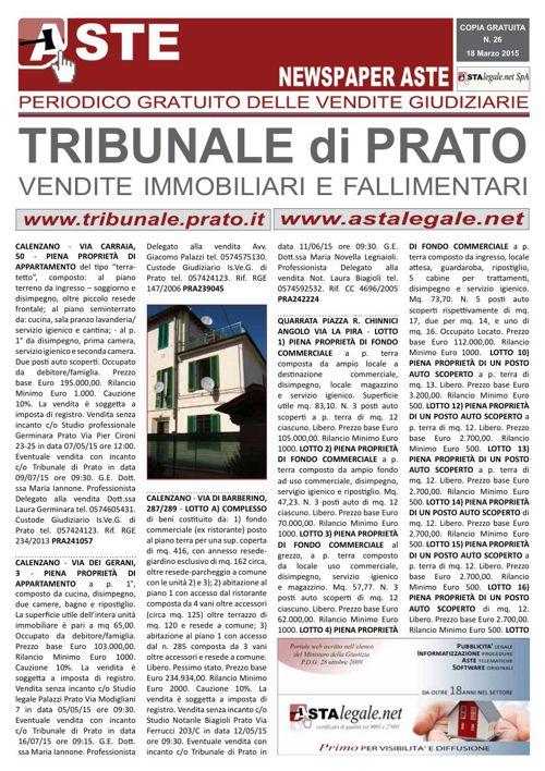 Prato marzo 2015