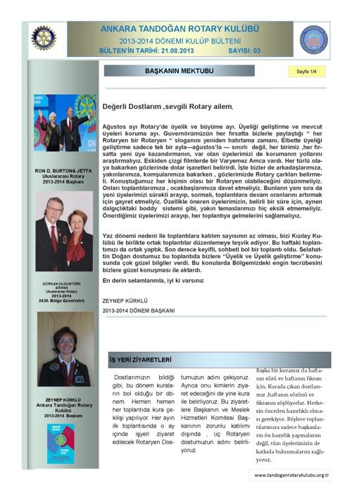 Tandogan Rotary Bulten 03