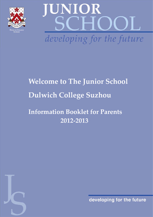 Junior School Booklet 2012-2013