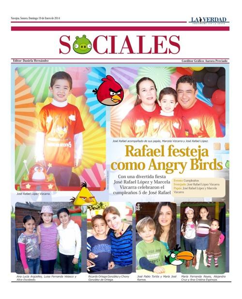 SOCIALES 19 DE ENERO 2014