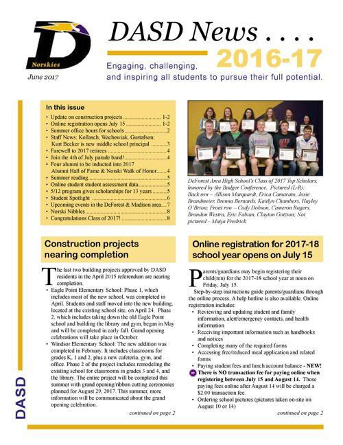 DASD News: June17