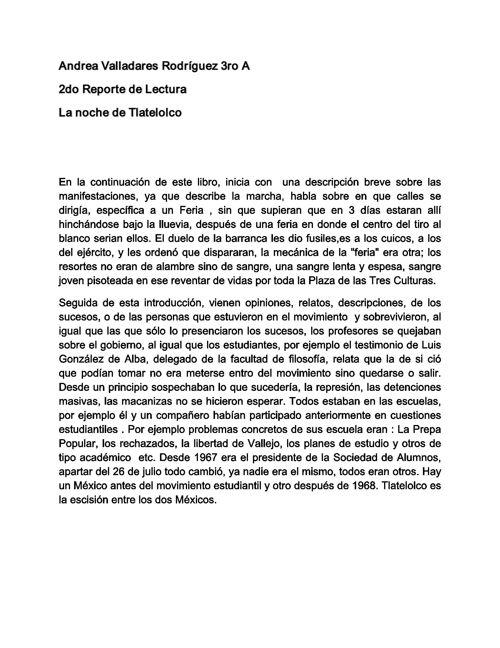 Andrea Valladares Rodríguez 3ro A- 2do Reporte