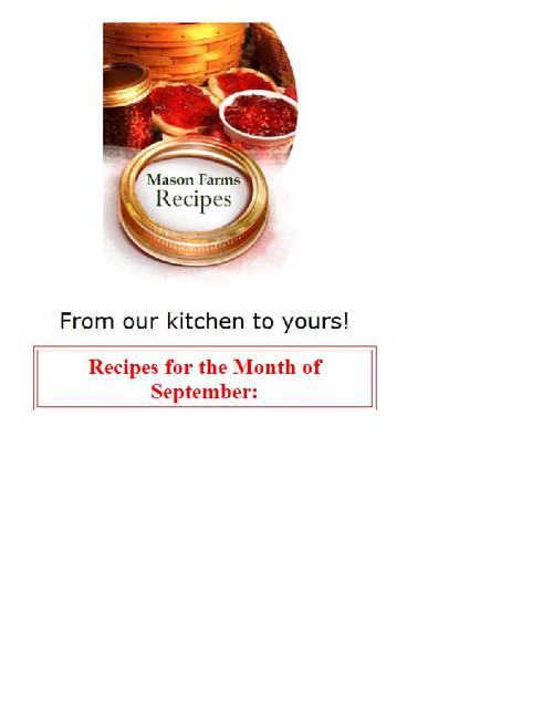 Recipe Test