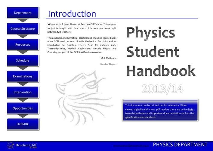 Student Handbook 2013/14