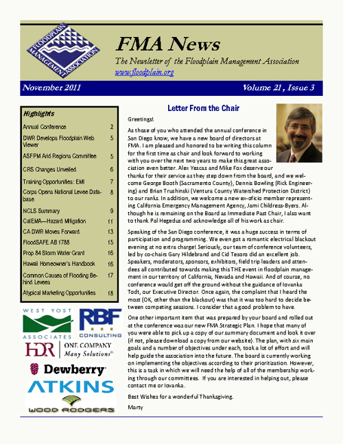 Post-Conference 2011 Newsletter