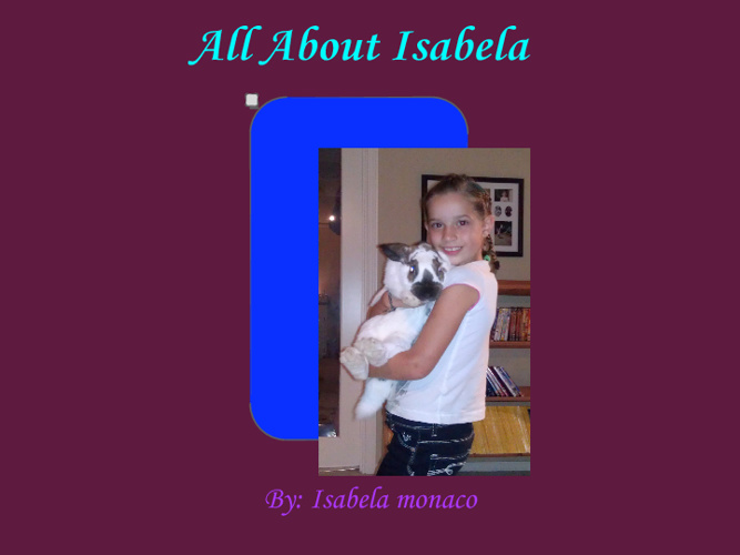 All About Isabela