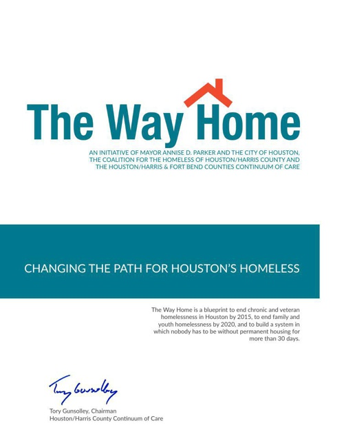 The Way Home 2014 Action Plan