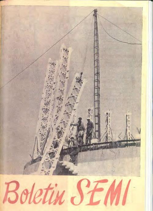 Boletín SEMI nº 16 (1958)