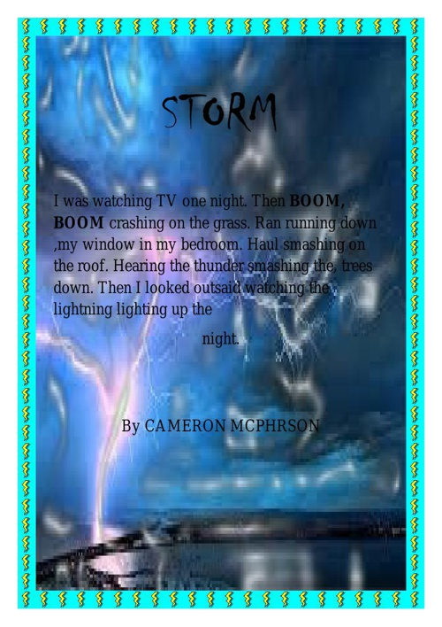 Storms Poems
