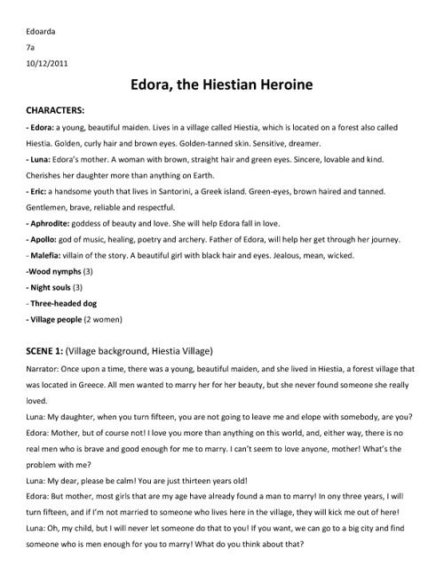 Edora- The Hiestian Heroine