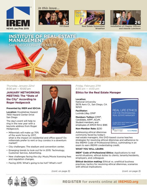 IREMSD January/February 2015