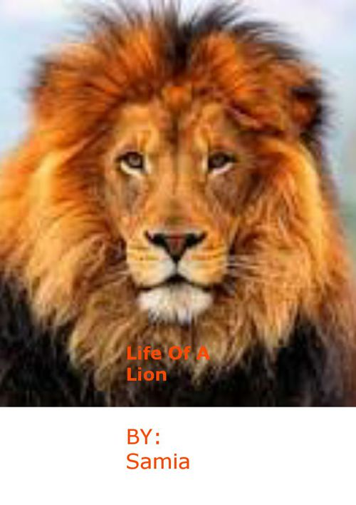 The Life Of A Lion By Sa'mia Rice