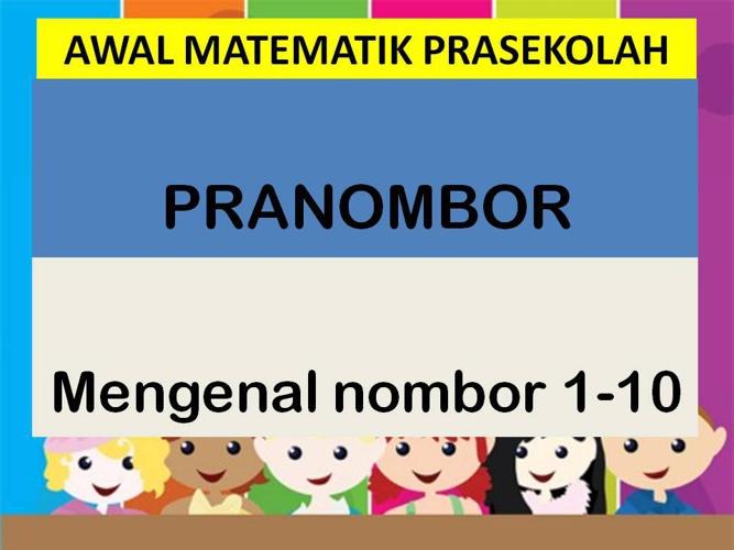 Matematik Prasekolah