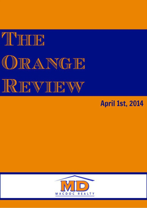 April Orange Review