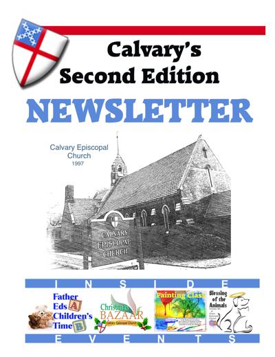 Calvary Episcopal Church Fall 2916