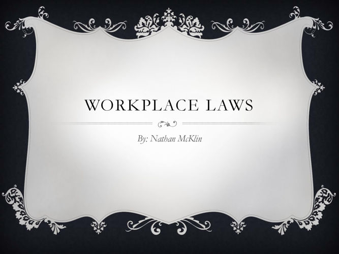 Workplace Laws
