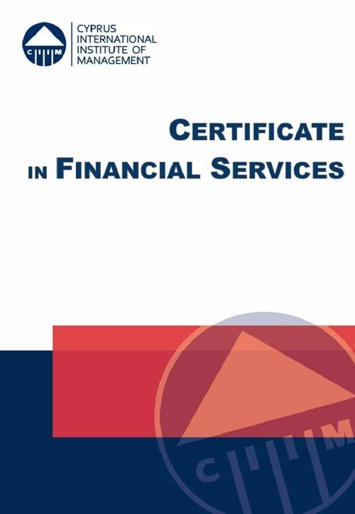 CIIM - Certificate in Financial Services