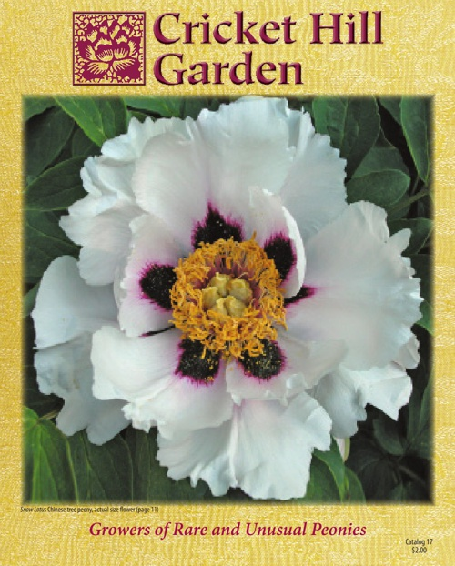 Cricket Hill Garden 2013 Catalog