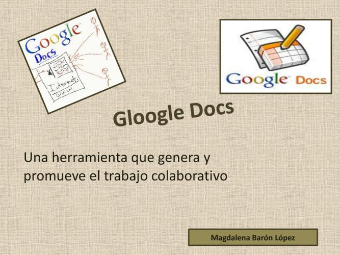 Magdalena Barón Google Docs